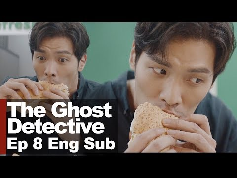 How Can Choi Daniel Eat Sandwich? [The Ghost Detective Ep 8]