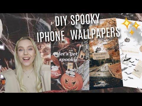 DIY Spooky & Aesthetic Halloween IPhone Wallpapers🎃