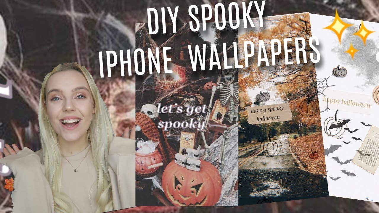 Diy Spooky Aesthetic Halloween Iphone Wallpapers Youtube