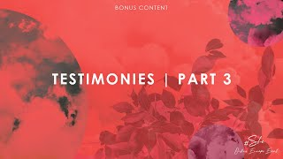 #SHE2020 | Testimonies Session Part 3