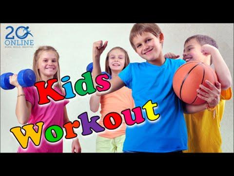 Kids 20 Minute Workout - The Original TFlex - 20 Online