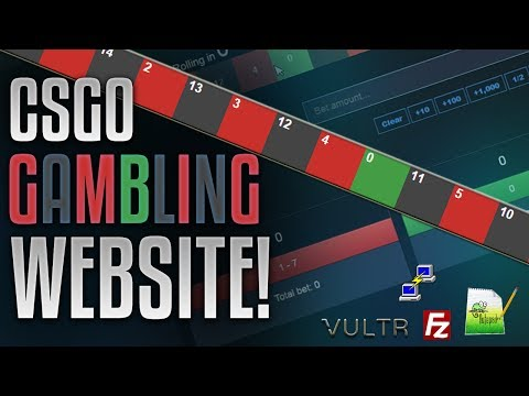 [CS:GO] How To Create A Roullete / Coinflip GAMBLING SITE!