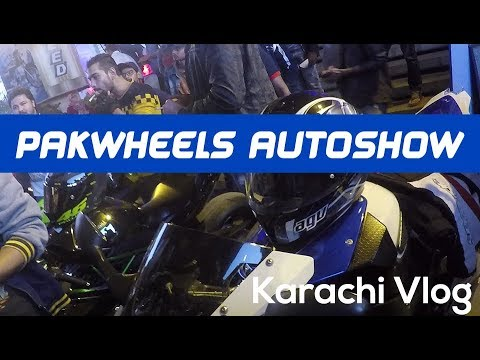 Vlog - Pakwheels Auto show Karachi December 24th , 2017 at Port Grand