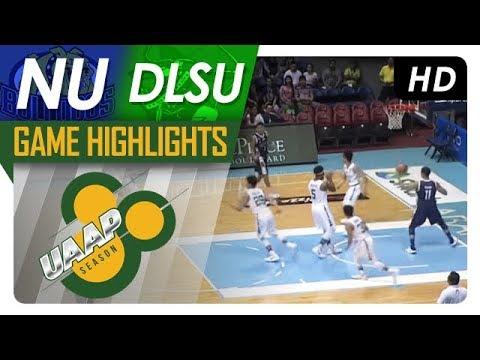 NU vs. DLSU | Game Highlights | UAAP 80 Men's Basketball | Sept. 16, 2017
