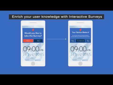 Know and Engage Your App Users with Interactive Mobile Surveys