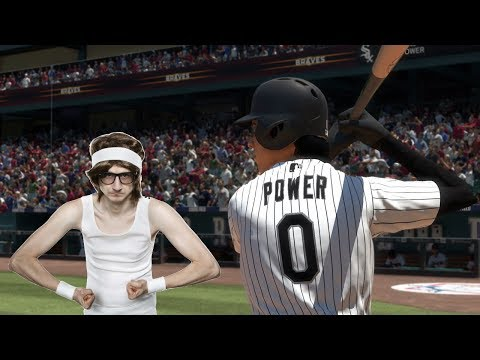 How FAR Can a Player with ZERO POWER Hit a Home Run | MLB The Show 18 Challenge