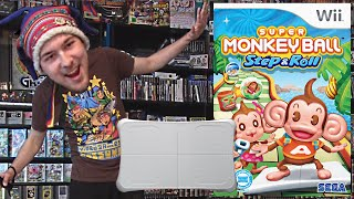 Super Monkey Ball: Step & Roll (Wii) Peripheral Bonanza!