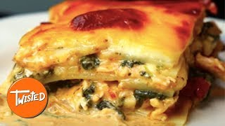 Video Homemade Tuscan Chicken Potato Lasagna   Twisted download MP3, 3GP, MP4, WEBM, AVI, FLV Juli 2018
