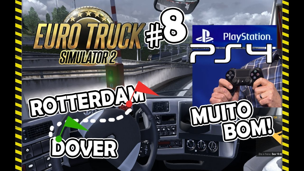 euro truck simulator 2 8 novidade sobre ps4 gameplay. Black Bedroom Furniture Sets. Home Design Ideas