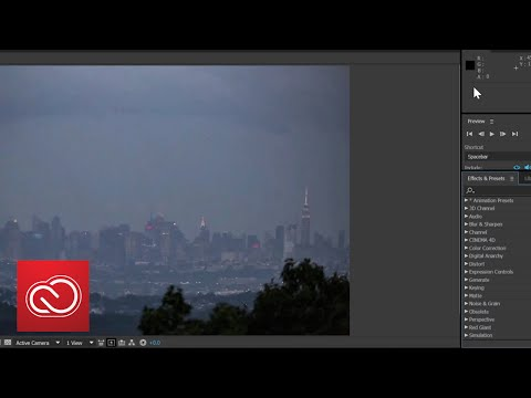 How To Add Special Effects To Video With After Effects PART 1 | Adobe Creative Cloud