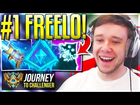 ABUSE THIS NEW BUILD FOR FREELO!!! - Journey To Challenger | League of Legends thumbnail