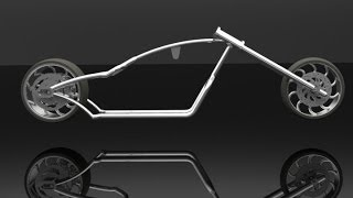 Design and Development of a Chopper Bike Frame