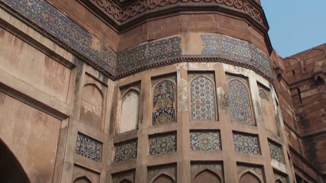 Red Fort Agra Ancient Mughal Empire Youtube