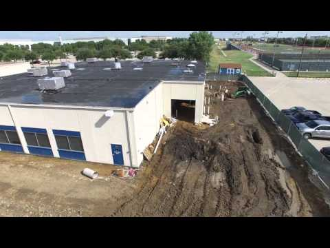 Aerial Construction Update Oct 9th, 2015 Prince of Peace Christian School