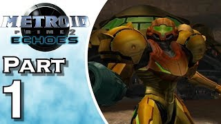 Let's Play Metroid Prime 2: Echoes (Gameplay + Walkthrough) Part 1
