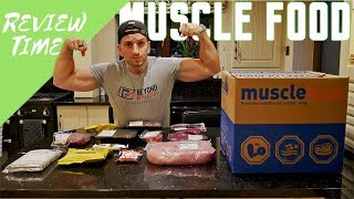 Musclefood First Hamper Unboxing & Honest Review | Meat feast