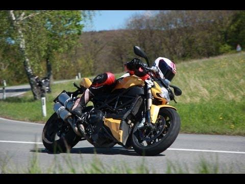 Ducati Streetfighter 848 Test