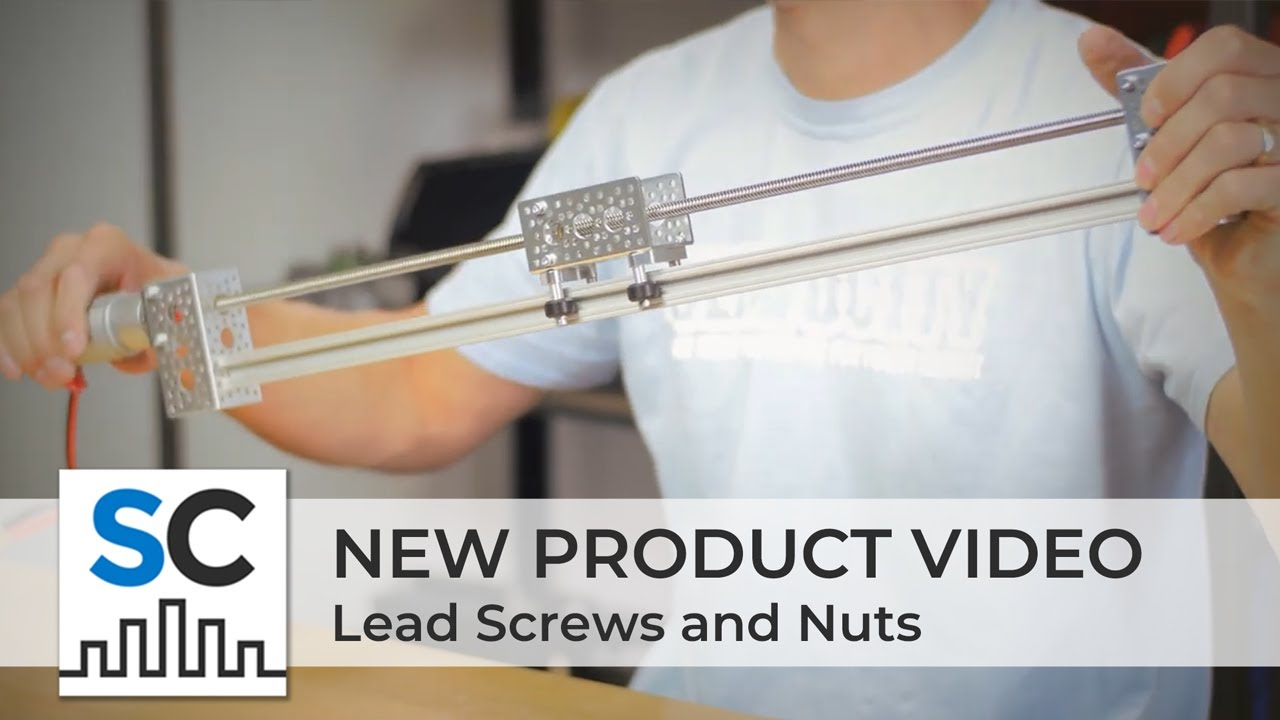 ServoCity Products: Lead Screws and Nuts