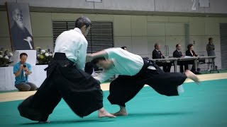 Aikido Demonstration - Tomohiro Mori - 12th IAF Congress (2016) [Aikikai]