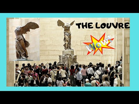 ad7630133ac76 EXPLORING THE LOUVRE, famous LOOTED GREEK STATUE OF NIKE (WINGED VICTORY)  of SAMOTHRACE