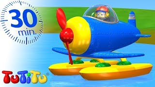 Sky High | Seaplane | 30 Minutes TuTiTu Specials