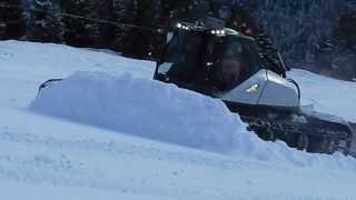 Nuovo Prinoth Leitwolf 2014 - Prove in Val Gardena