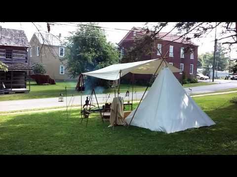Primitive campers in Beverly, WV