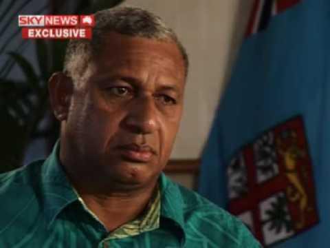 Fiji's Frank Bainimarama - Part 1 of 3