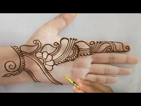 Beautiful Latest Simple Easy Gulf Henna Mehndi Designs 2019 Stylish Mehndi Designs Tutorial