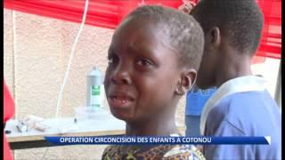 Repeat youtube video Opération gratuite de circoncision moins douloureuse pour des garçons à Cotonou