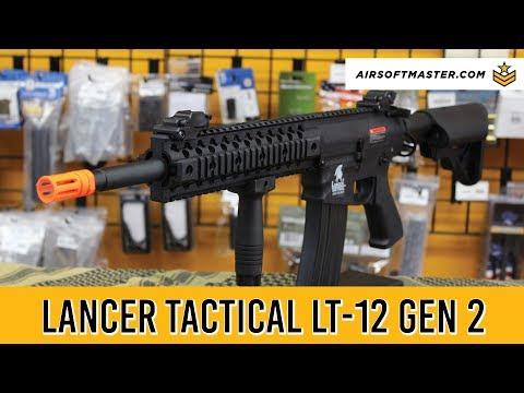 Lancer Tactical LT-12 Gen 2 Airsoft Gun Review