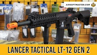 Lancer Tactical LT-12 Gen 2 Airsoft Gun Review