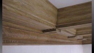 КЕССОННЫЙ ПОТОЛОК из дерева 3 часть монтаж.(В данном видео вы увидите как необходимо собрать специальный каркас для кессонного потолка.Покажу сборку..., 2016-01-24T06:38:07.000Z)