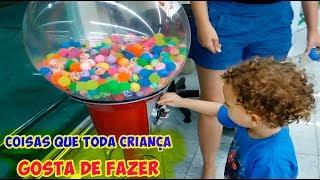Coisas que toda criança GOSTA DE FAZER 04 - Dany e Cadu