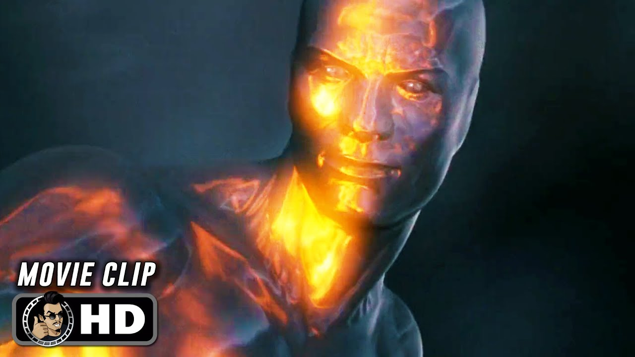 "Download FANTASTIC 4: RISE OF THE SILVER SURFER Clip - ""The Silver Surfer vs. Galactus"" (2007)"
