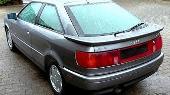 Audi Coupe 2.3 E im Sammlerzustand --- ein Zustandsbericht Teil 1