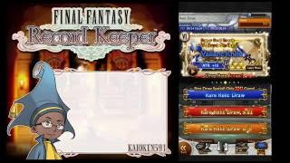 Final Fantasy Record Keeper ¦FFRK¦  VI Banner + Black Mage Lucky Relic Draws!