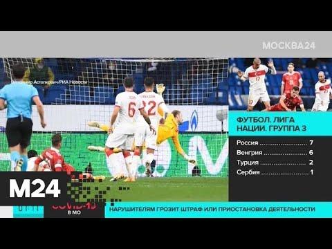 Сборная России по футболу сыграла вничью с командой Турции в Лиге наций - Москва 24