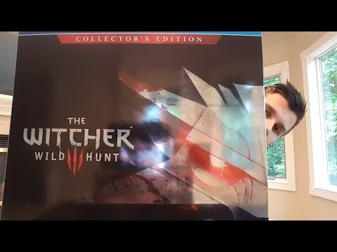 The Witcher 3 Collector's Edition Unboxing and Review!! (The Witcher 3 Wild Hunt Statue)