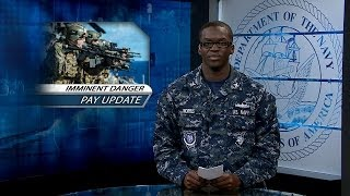Changes to Imminent Danger Pay; Navy Leader's Guide App Available