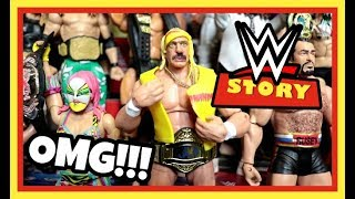OMG!!! MY WWE MATTEL ACTION FIGURES TALK!!! (skit)