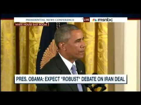 IRAN NUCLEAR DEAL PRES  OBAMA