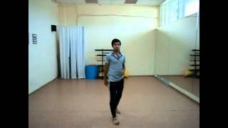 Лезгинка,видео урок №3.комбинация 2