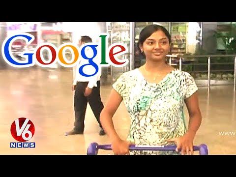 Google picks Telugu girl Sri Meghana @ Rs 75 lakhs salary - Hyderabad