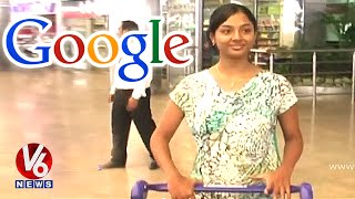 Google picks Telugu girl Sri Meghana @ Rs 75 lakhs salary - Hyderabad Free HD Video