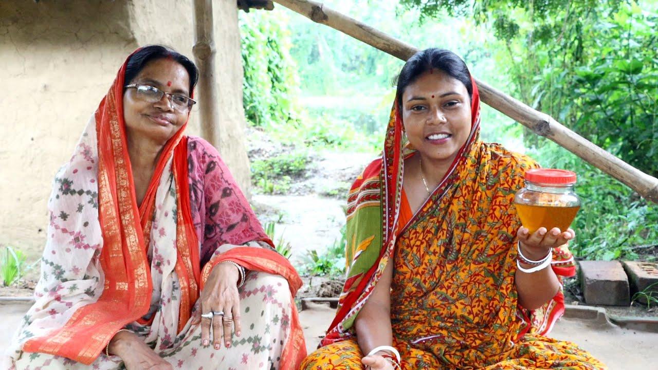 আজ মা বানালেন ঘরোয়া পদ্ধতিতে শুদ্ধ দেশী ঘি / Home Made Deshi Ghee by Mother in law