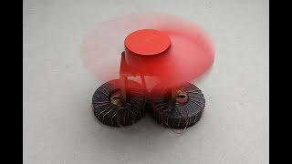Free energy fan with copper wire self running magnets -  Technology 2018 at hom