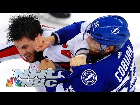 Top 18 NHL fights of 2018 | NHL | NBC Sports