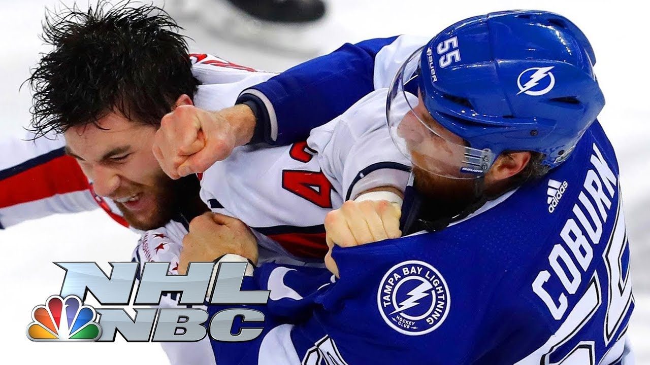 Top 18 Nhl Fights Of 2018 Nhl Nbc Sports Youtube