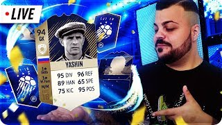 PACK OPENING FULL TEAM TOTY E COMPLETIAMO YASHIN ICON ! [ SPONSOR 85/100] LIVE 🔴